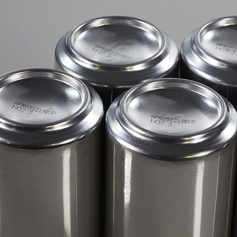 Impresión de lote y caducidad en latas