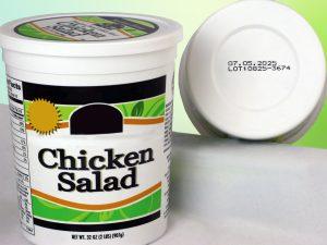 Codificado inkjet de alimentos- procesos industriales