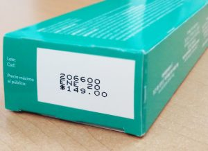codificado de medicamentos -codificadores inkjet en la industria farmacéutica