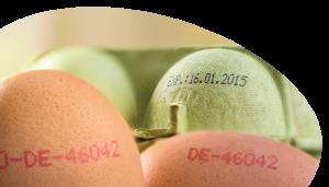 marcado de huevos